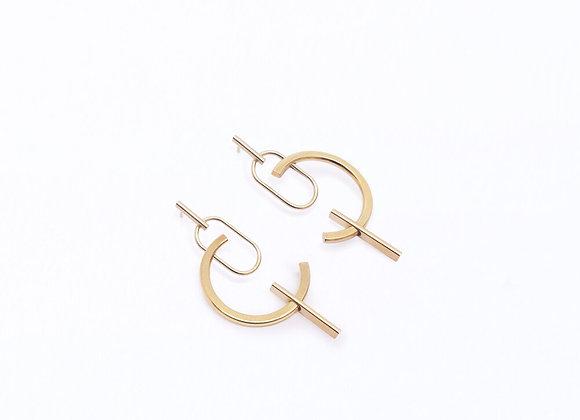 Boucles d'oreilles Brion II - Marthe Cresson