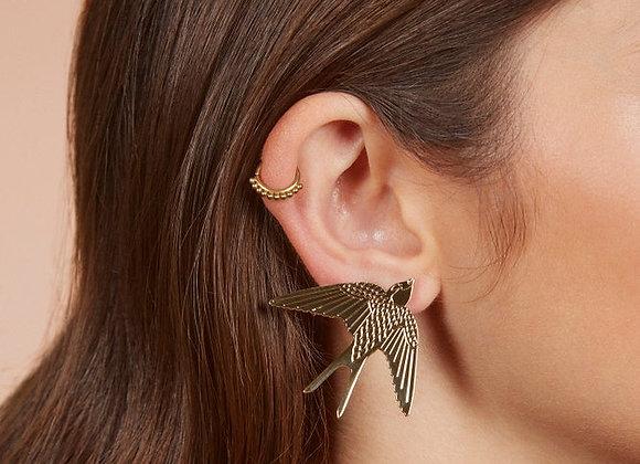 Boucles d'oreilles Hirondelles - Christelle dit Christensen