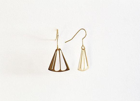 Boucles d'oreilles demi carton - Virginie Fantino