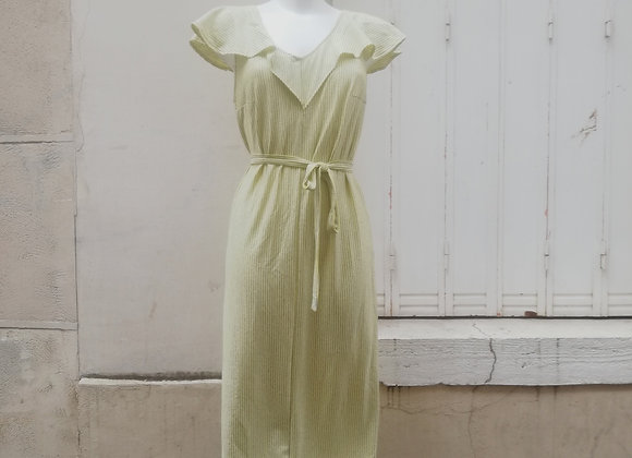 Robe Connie jaune