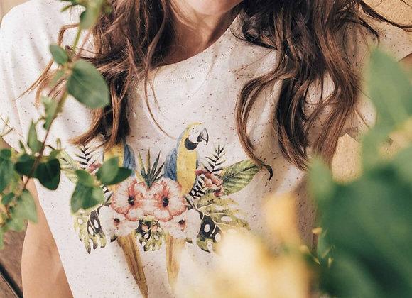 Tee shirt Perroquets