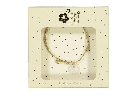 Bracelet cordon pampille  - Obi obi