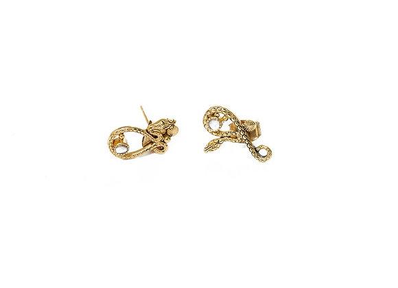 Boucles d'oreilles Sissi puces - La2l