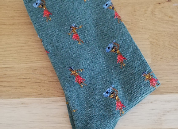 Chaussettes Hawaiennes