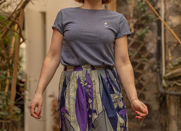 Jupe Stella wax violet