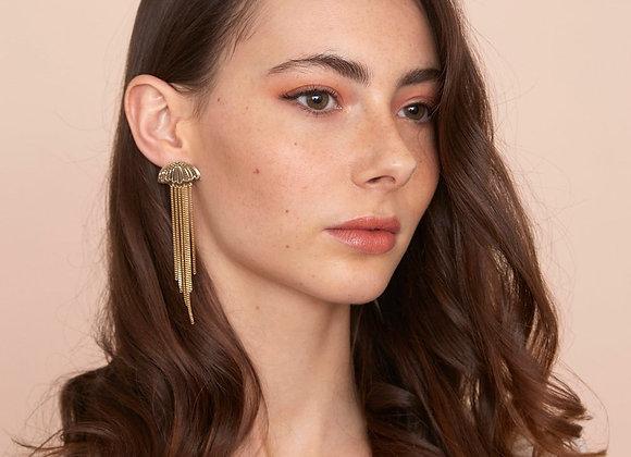 Boucles d'oreilles Meduse  M - Christelle dit Christensen