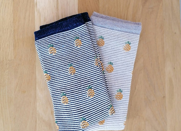 Chaussettes Ananas  - Royalties