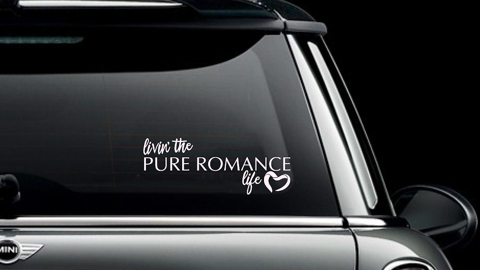 Livin the Pure Romance Life Decal