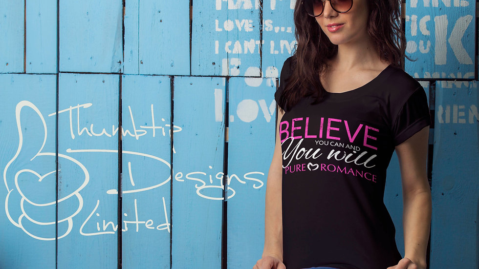 Believe You Can And You Will T-Shirt