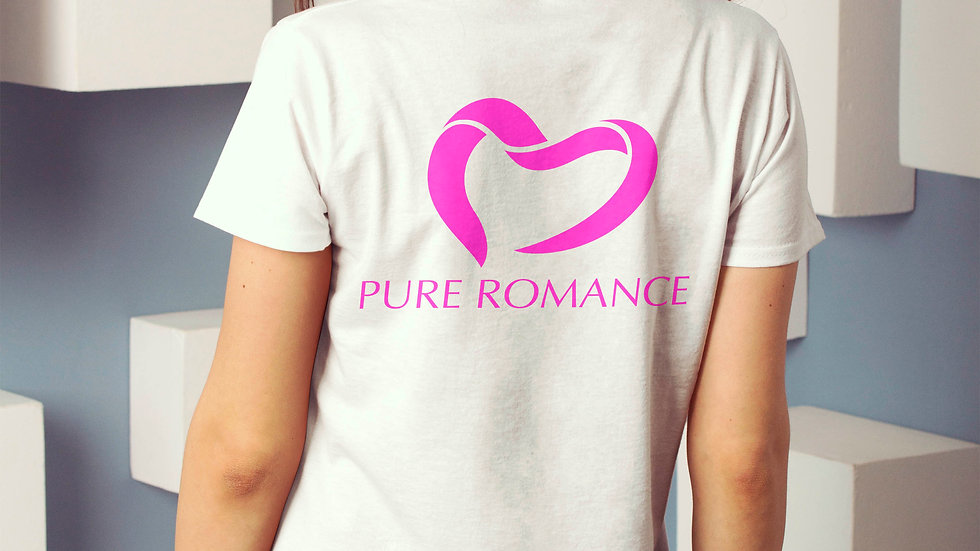 Pure Romance Heart Logo