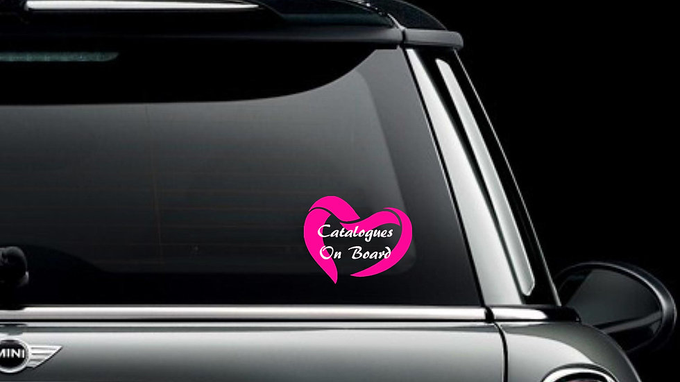 Catalogs On Board Decal