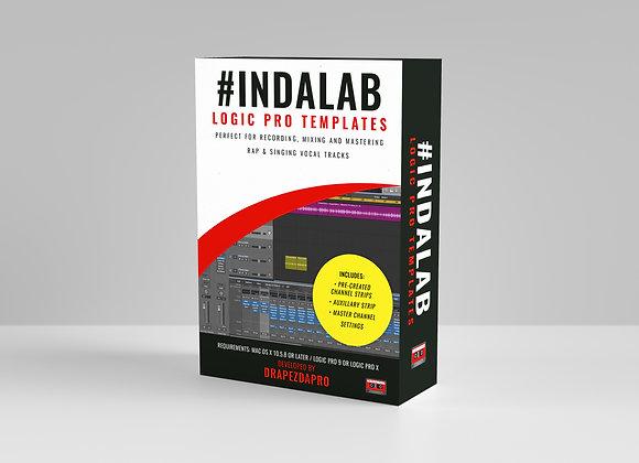 #Indalab Logic Pro Template