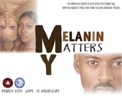 My Melanin Matters final flyer