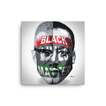 Black Lives Matter Canvas 12 x 12 Print