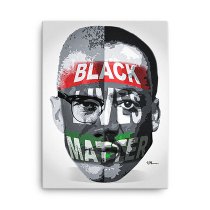 Black Lives Matter Canvas 20 x 24 Print