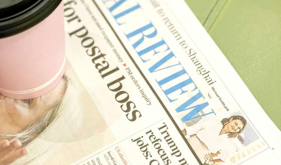 Australian Financial Review Feature