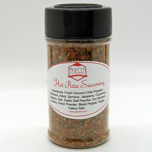 Handcrafted Hot Pizza Seasoning