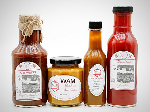 copy of Watts Sauce Gift Pack