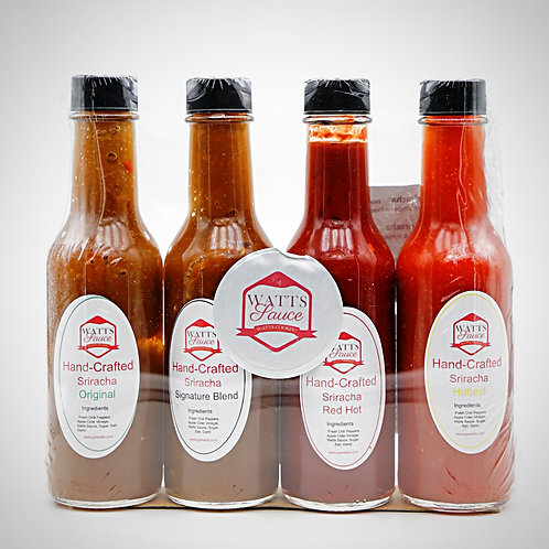 copy of Hand-Crafted Sriracha 4 Pack