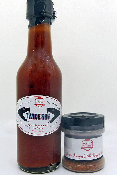 Twice Shy and Ghost Pepper Blend Gift Pack