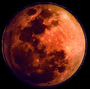 Close up on Full Moon