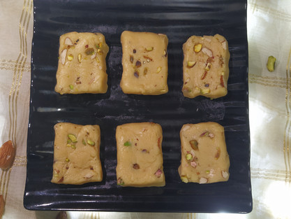 Milk Barfi recipe in 10 mins| theflavours101.