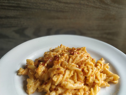 Easy Pink Sauce Pasta at Home.| theflavours101.