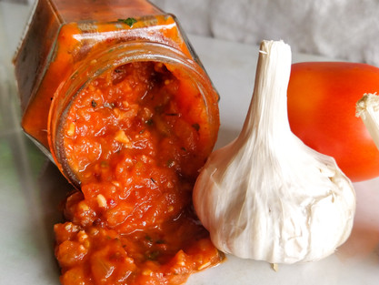Homemade Pizza Sauce Recipe| Quick Pizza Sauce| Pizza Sauce| theflavours101.