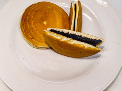 Spongy Dora Cakes at home| Easy Dorayaki Cakes| No egg No oven recipe|theflavours101.