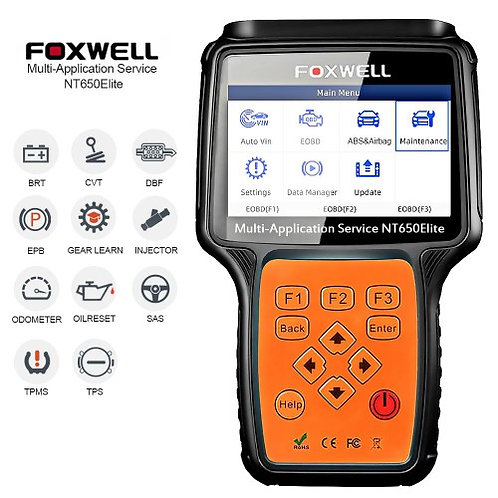 FOXWELL NT650 Elite Multi-Application Service Tool