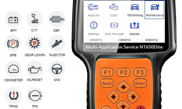 FOXWELL NT650 Elite Multi-Application Service Tool