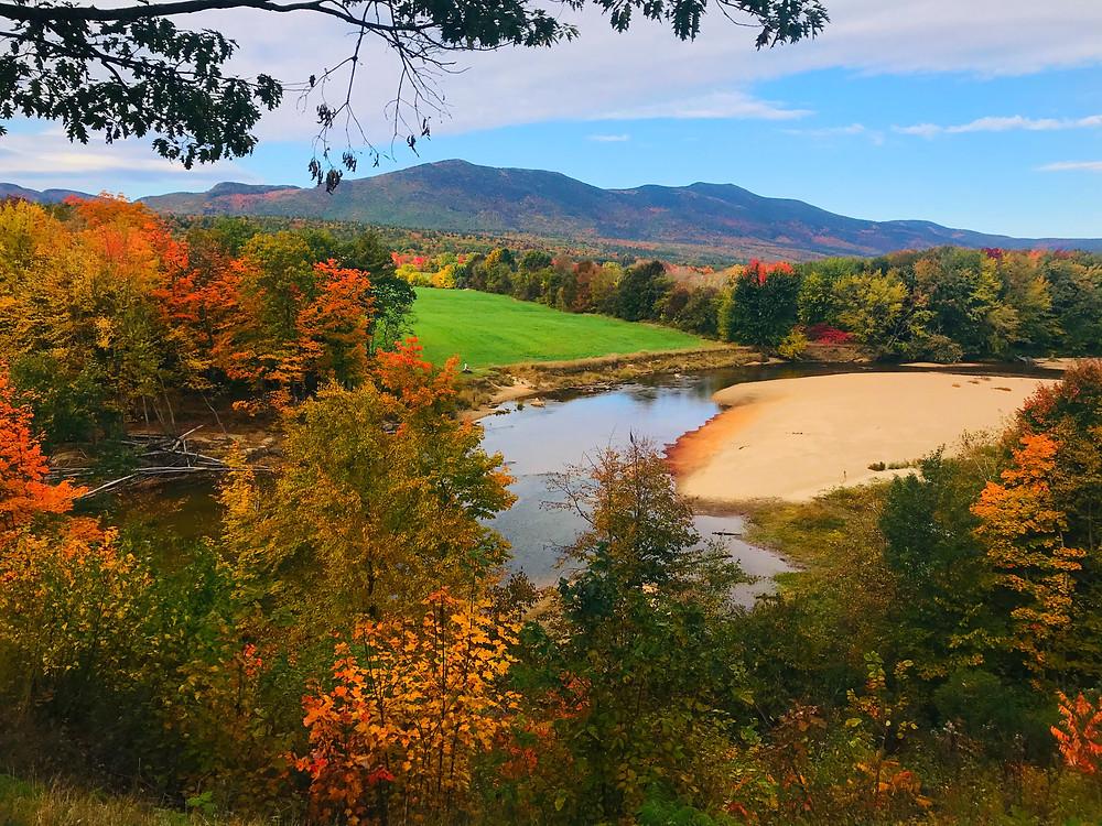 Saco Overlook, North Conway, NH, New Hampshire, Fall Foliage