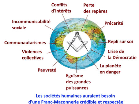 Les sociétés humaines auraient besoin d'une Franc-Maçonnerie crédible et respectée !