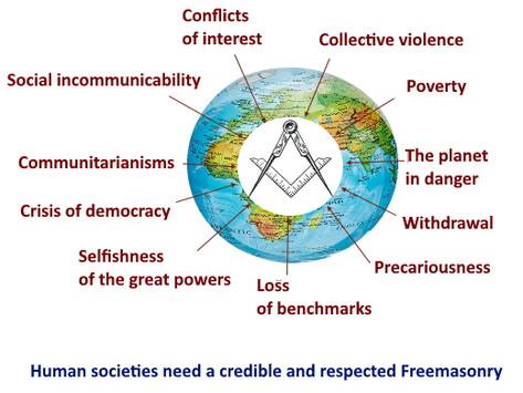 Human societies need a credible and respected Freemasonry