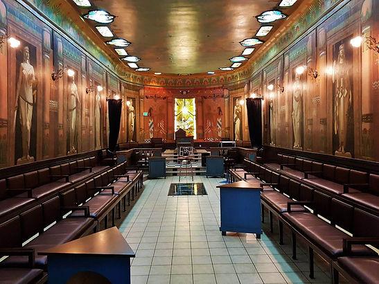 """Temple du GODF de Nancy - une """"merveille d'Art Nouveau"""""""