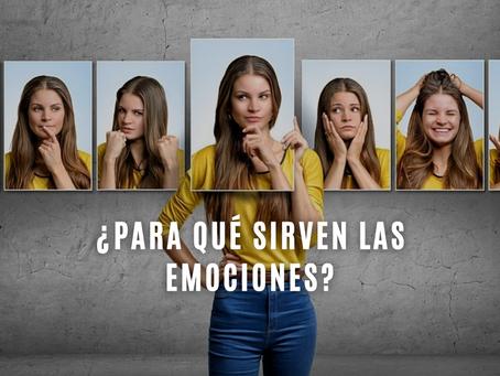 ¿Para qué sirven las emociones?