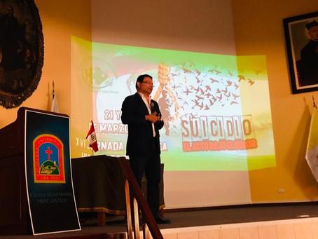 """Conferencia:""""Abordaje Psicofarmacológico del paciente con conducta suicida"""""""