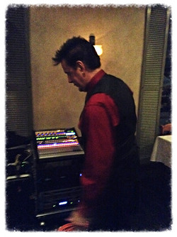 Cliff at work