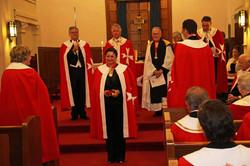the Priory Chaplain, Rev Palmer O. W