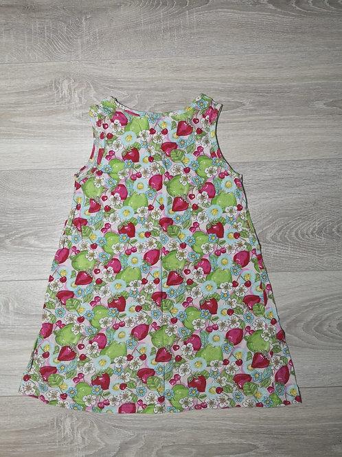 Vestido com padrão fruta