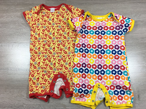 Pack 2 Babygrows Coloridos