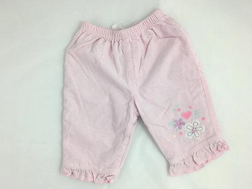 Calças de elástico na cintura