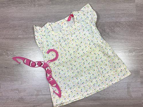 Vestido de tecido opaco - fresco