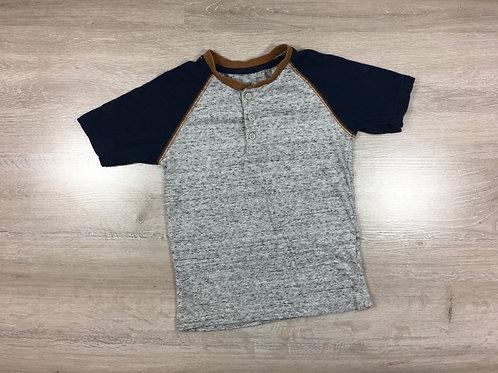 T-shirt Cinzenta & Azul