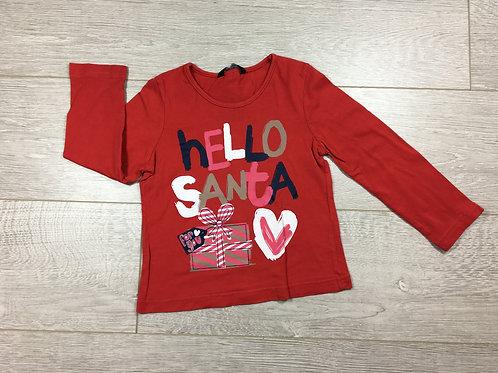"Camisola ""Hello Santa"""
