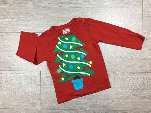 Camisola Arvore de Natal (manchinha)