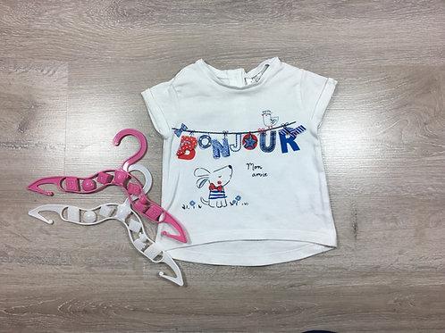 "T-shirt ""Bonjour"""