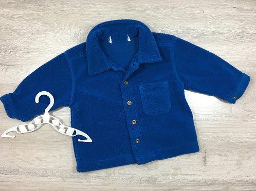 Casaco Azul com etiqueta removida