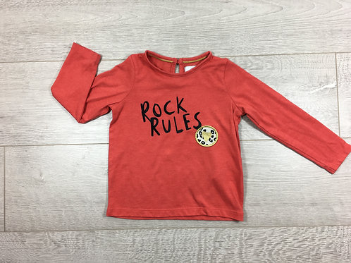 "Camisola ""Rock Rules"""
