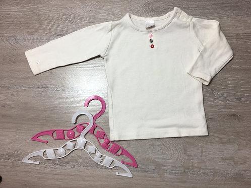 Camisola com 3 botões decorativos